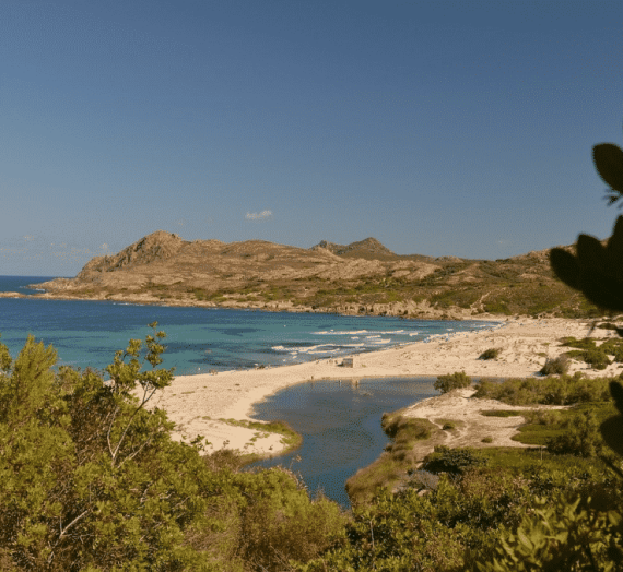 Vacances en camping en Corse